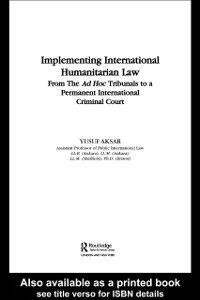 Foto Cover di Implementing Intnl Humanitaria, Ebook inglese di Yusuf Aksar, edito da Taylor and Francis