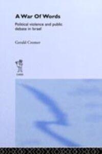 Ebook in inglese War of Words Cromer, Gerald