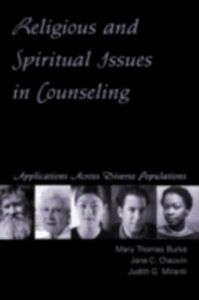 Foto Cover di Religious and Spirituality Issues in Counseling, Ebook inglese di AA.VV edito da Taylor and Francis