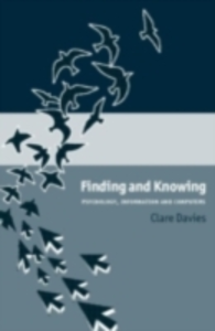 Ebook in inglese Finding and Knowing Davies, Clare