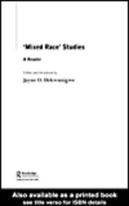 Ebook in inglese 'Mixed Race' Studies