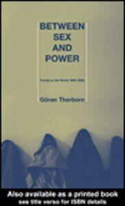 Ebook in inglese Between Sex and Power Therborn, Göran