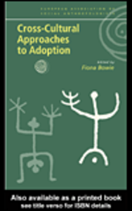 Ebook in inglese Cross-Cultural Approaches to Adoption