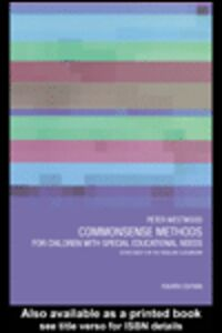 Foto Cover di Commonsense Methods for Children with Special Educational Needs, Ebook inglese di Peter Westwood, edito da