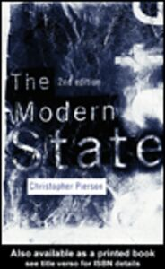 Ebook in inglese The Modern State Pierson, Christopher