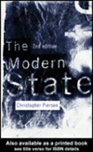 Foto Cover di The Modern State, Ebook inglese di Christopher Pierson, edito da