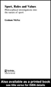Ebook in inglese Sport, Rules and Values McFee, Graham