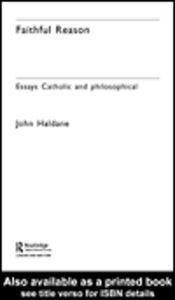 Ebook in inglese Faithful Reason Haldane, John