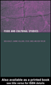 Ebook in inglese Food and Cultural Studies Ashley, Bob , Hollows, Joanne , Jones, Steve , Taylor, Ben
