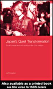 Foto Cover di Japan's Quiet Transformation, Ebook inglese di Jeff Kingston, edito da
