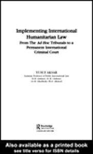 Ebook in inglese Implementing International Humanitarian Law Aksar, Yusuf