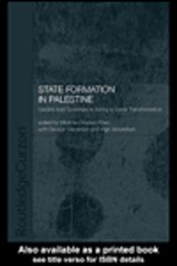 Ebook in inglese State Formation in Palestine