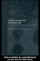 State Formation in Palestine
