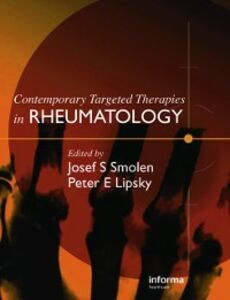 Ebook in inglese Contemporary Targeted Therapies in Rheumatology