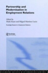 Ebook in inglese Partnership and Modernisation in Employment Relations