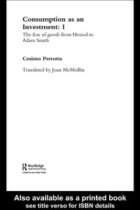Ebook in inglese Consumption as an Investment Perrotta, Cosimo