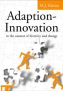 Foto Cover di Adaption-Innovation, Ebook inglese di M.J. Kirton, edito da Taylor and Francis