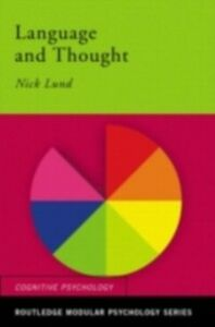 Ebook in inglese Language and Thought Lund, Nick