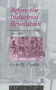 Ebook in inglese Before the Industrial Revolution Cipolla, Carlo M.