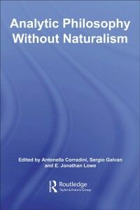 Ebook in inglese Analytic Philosophy Without Naturalism