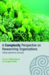 Complexity Perspective on Researching Organisations