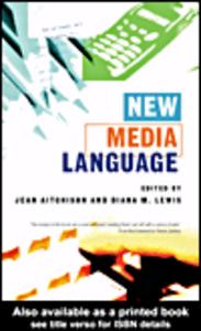 Ebook in inglese New Media Language