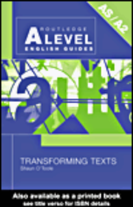 Ebook in inglese Transforming Texts O'Toole, Shaun