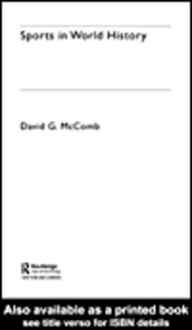 Ebook in inglese Sports in World History McComb, David G.