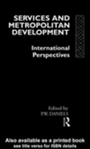Ebook in inglese Services and Metropolitan Development