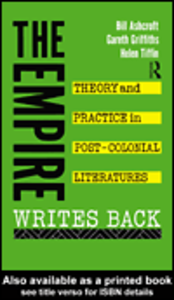 Ebook in inglese The Empire Writes Back Ashcroft, Bill , Griffiths, Gareth , Tiffin, Helen