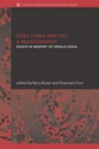 Ebook in inglese Does China Matter? -, -