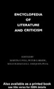 Foto Cover di Encyclopedia of Literature and Criticism, Ebook inglese di AA.VV edito da