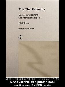 Ebook in inglese The Thai Economy Dixon, Chris