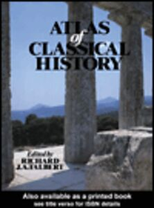 Ebook in inglese Atlas of Classical History Talbert, R. J. A.