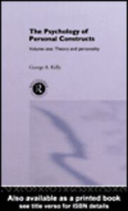 Ebook in inglese The Psychology of Personal Constructs Kelly, George
