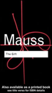Ebook in inglese The Gift Mauss, Marcel