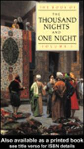 The Book of the Thousand and One Nights (Vol 1)