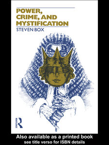 Ebook in inglese Power, Crime and Mystification Box, Steven