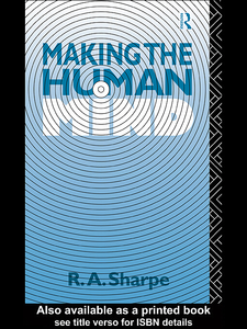 Ebook in inglese Making the Human Mind