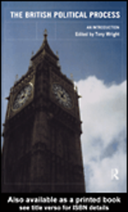 Ebook in inglese The British Political Process