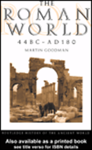 Ebook in inglese The Roman World 44 BC - AD 180 Goodman, Martin