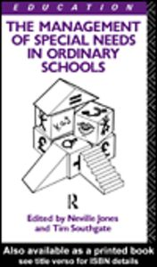 Ebook in inglese The Management of Special Needs in Ordinary Schools