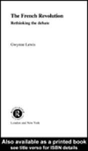 Ebook in inglese The French Revolution Lewis, Gwynne