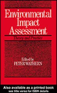 Foto Cover di Environmental Impact Assessment, Ebook inglese di Peter Wathern, edito da