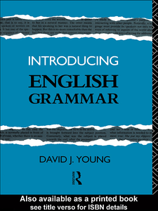 Ebook in inglese Introducing English Grammar Young, David J.