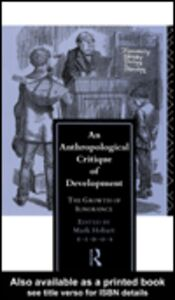 Ebook in inglese An Anthropological Critique of Development