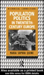 Ebook in inglese Population Politics in Twentieth Century Europe Quine, Maria Sophia