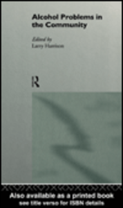 Ebook in inglese Alcohol Problems in the Community Harrison, Larry