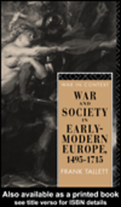 Ebook in inglese War and Society in Early Modern Europe Tallett, Frank