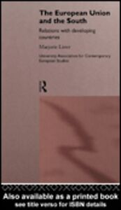 Foto Cover di The European Union and the South, Ebook inglese di Marjorie Lister, edito da